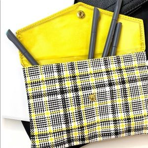 Plaid Cosmetic Bag